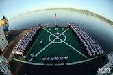 """""""远望三号""""测量船在斐济举行新年升国旗仪式(3/3) - 高山松 - gaoshansong.good 的博客"""