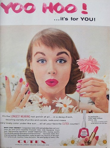 复古风正当时 1960年代指甲油广告寻灵感