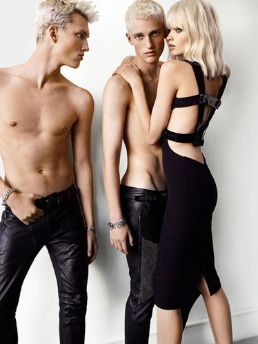 Versace2011春夏大片