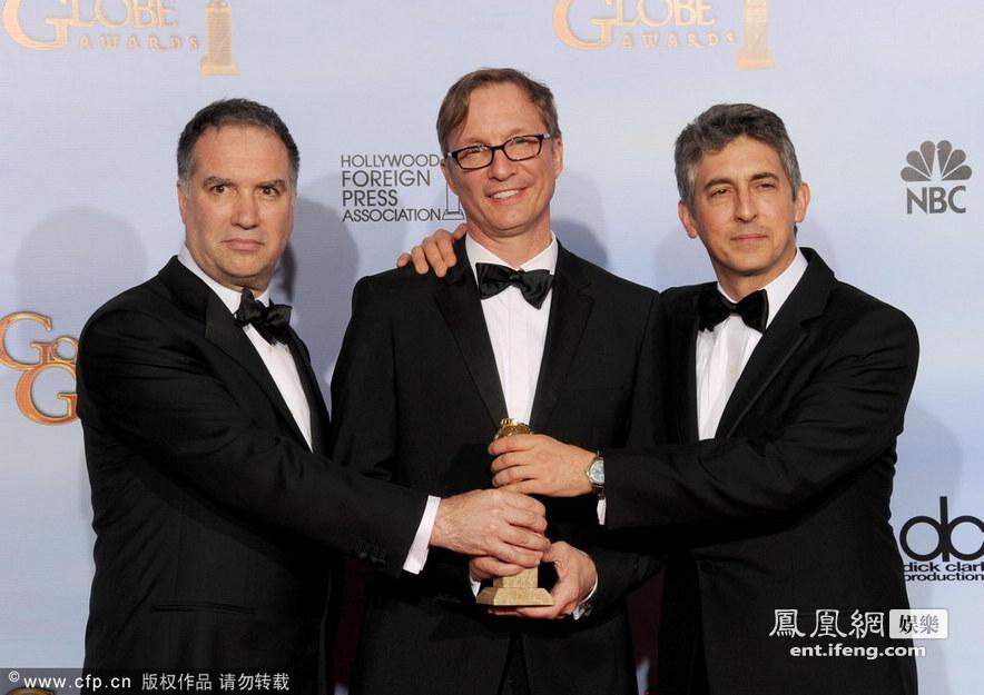 第69届美国电影电视金球奖颁奖后台直击[高清大图]