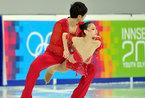 青年冬奥会花滑首日 中国小将组合发挥出色[高清大图]