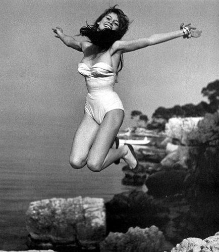 1950年代名人跳跃珍贵瞬间