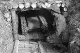 二战德军遥控坦克。