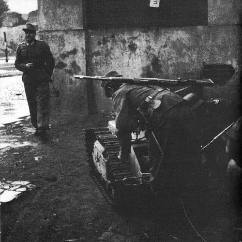 图揭二战德军遥控坦克