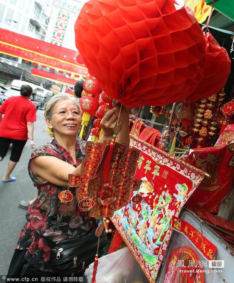 有华人的地方就有春节 在异域过地道新春佳节