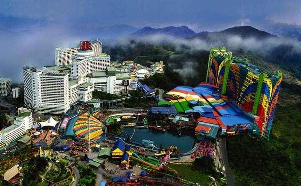 """马来西亚云顶娱乐城 禁赌国家唯一的""""赌场""""图片"""