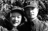 张爱萍将军与夫人李又兰合影。