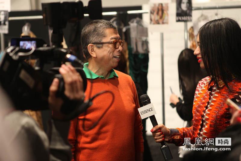 浮华背后 凤凰时尚独家采访Tadashi Shoji 设计师
