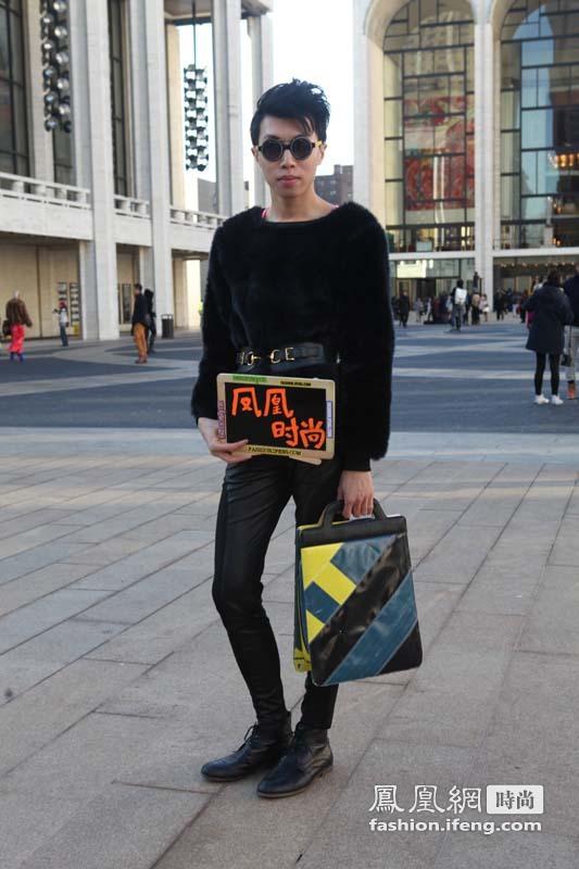 包罗万象详尽解读 凤凰时尚记录街头潮人