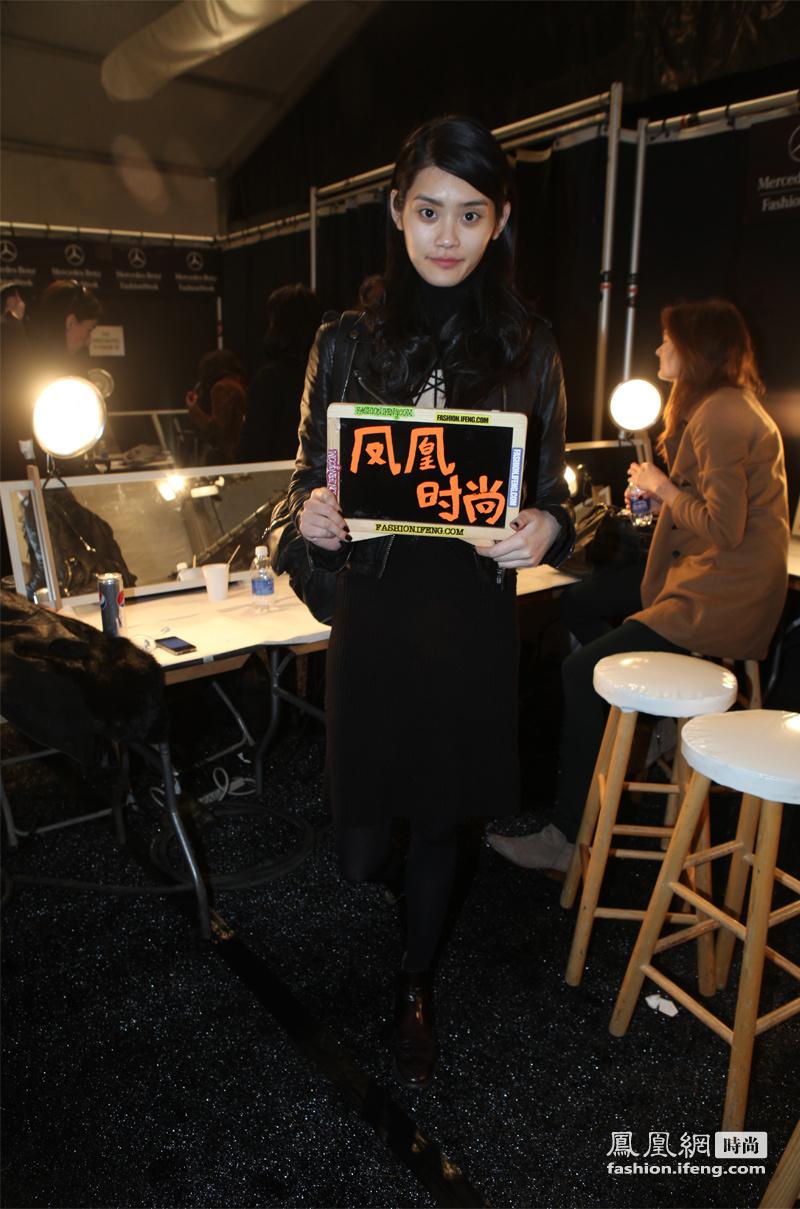 凤凰时尚2012秋冬纽约时装周 名人势力