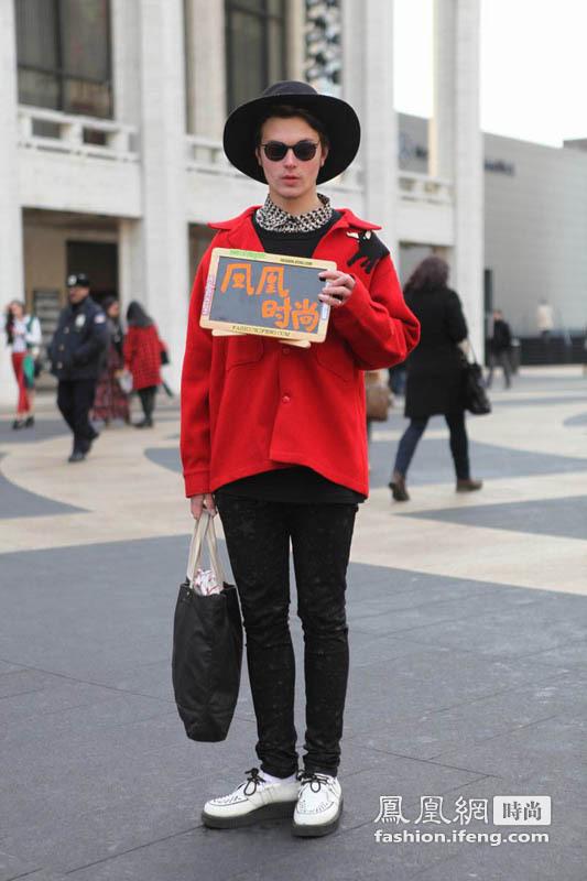 潮流所向穿衣示范 凤凰网时尚记录街头潮人