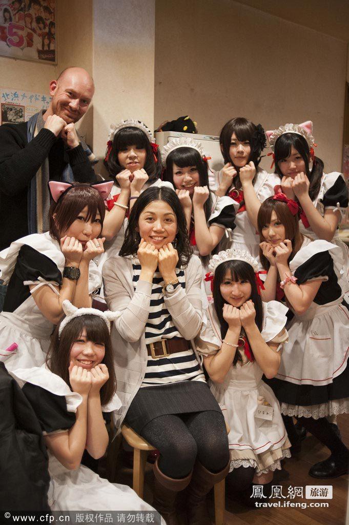 挡制服的不住v笛子走进大阪笛子舞曲咖啡厅性感性感女仆的图片