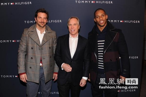 纽约时装周 明星云集亮相Tommy Hilfiger 2012秋装发布会