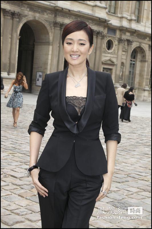 凤凰时尚在伦敦:中国女星前赴后继闯国际 挤进