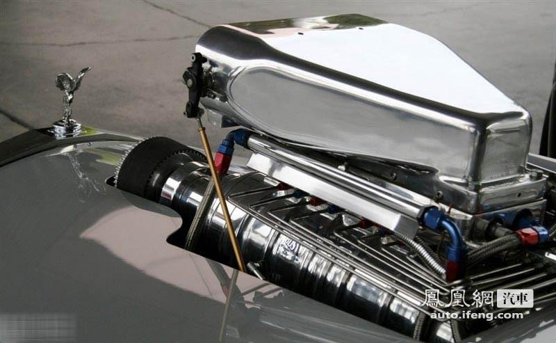 底盘最低劳斯莱斯银影 动力输出达1350匹