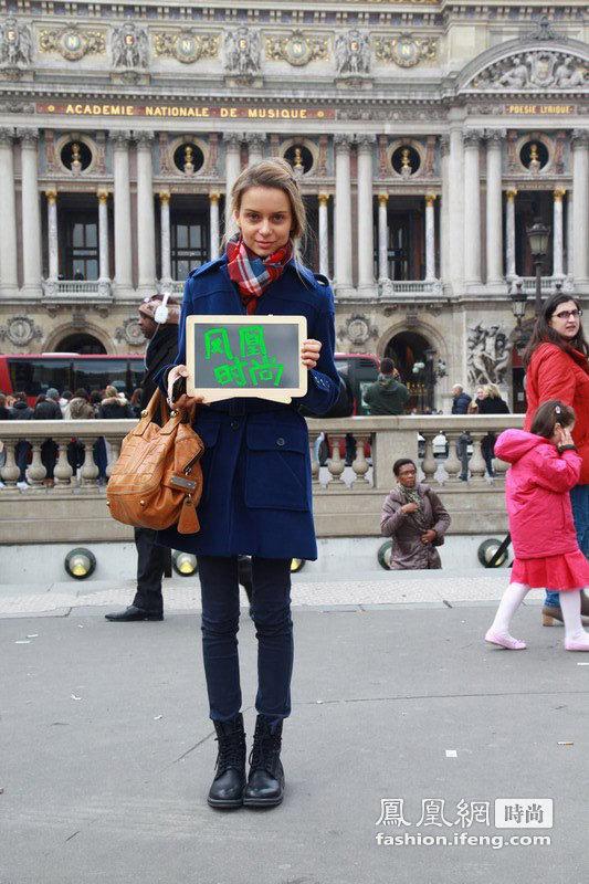 花点心思玩街拍 时尚母女档巴黎登场