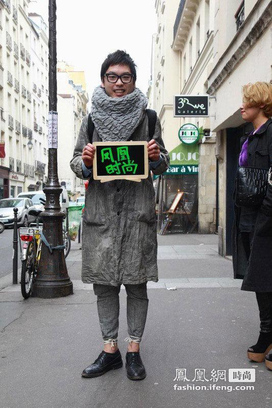 """时尚""""武林大会""""巴黎上演 街拍达人化身粉红女郎"""
