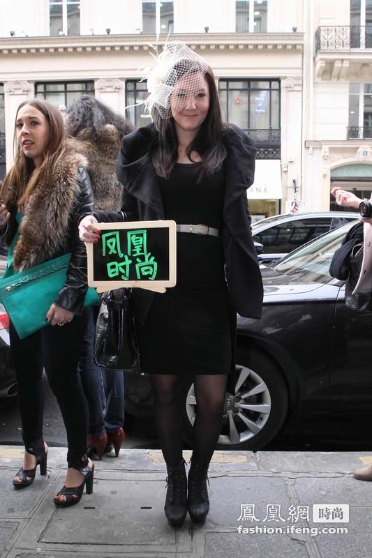 刘雯、张宇助阵凤凰时尚街拍 养眼指数再升级
