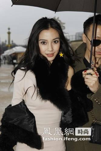 范冰冰与克劳奇娇妻白裙媲美 Angelababy妩媚迷人