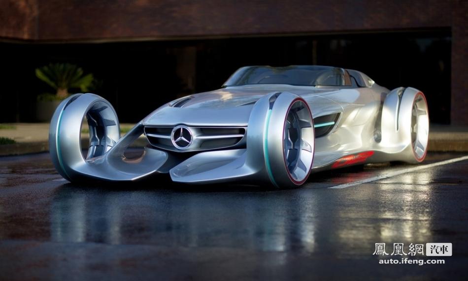 无可言语的美艳魅惑 银箭超现实概念车