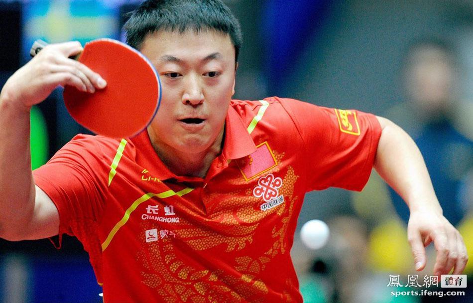 世乒赛 中国男团3 0瑞典