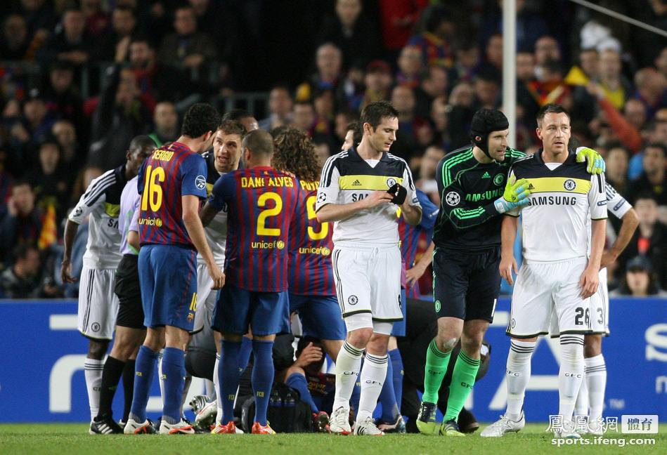 欧冠-梅西失点托雷斯单刀绝杀 切尔西3-2淘汰巴萨[高清]