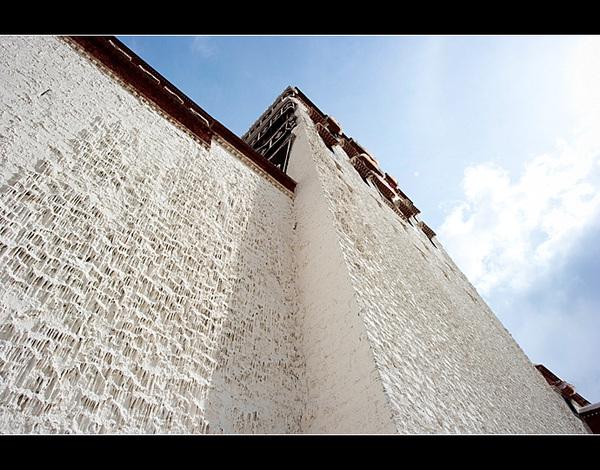 圣地拉萨·虔诚的布达拉宫转经人 - 静水流深 - 静水流深