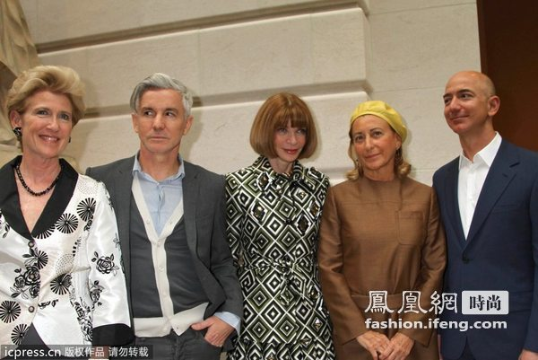 2012纽约大都会博物馆时装庆典 女魔头亮相