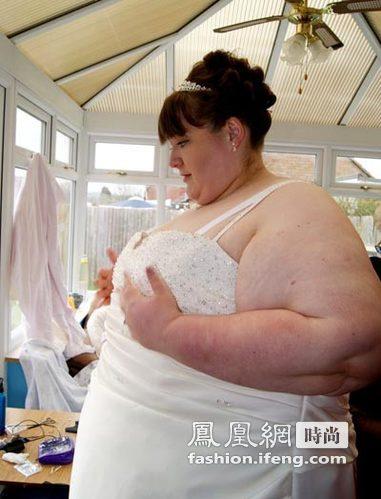 世界最胖情侣喜结连理