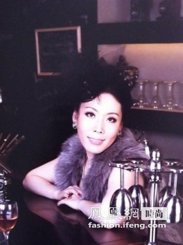 凤凰时尚高端达人惠普中国区总代理杜丽娟的美丽之选