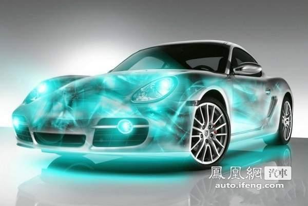 斑斓色彩装饰超酷跑车 跑车彩绘给你好看