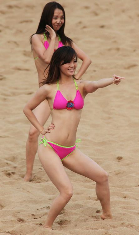 沙滩宝贝:亚沙会上的靓丽风景线【组图】 - 深瞳 - 深瞳渊源,品味经典!!!