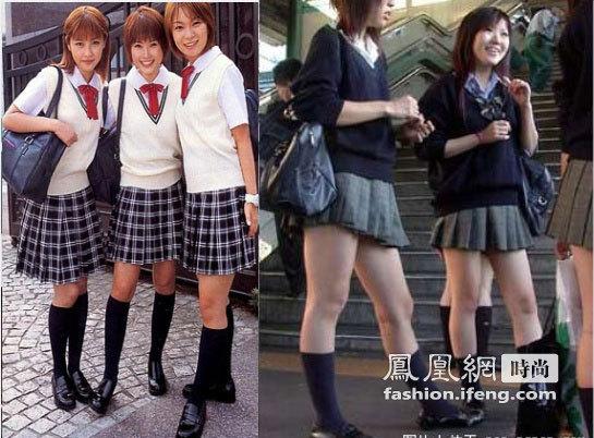 日本女生校服全球最美