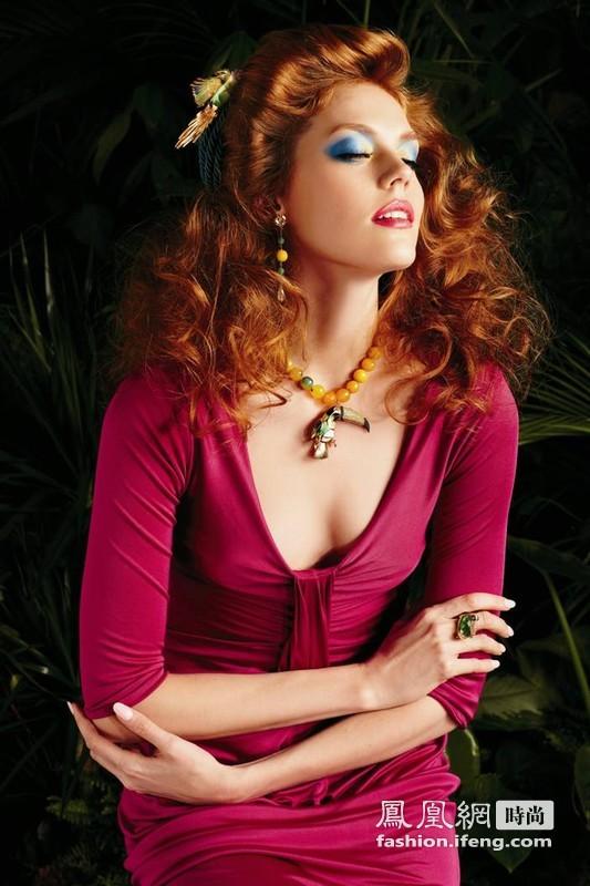 彩色珠宝演绎意大利时尚圈的美丽传奇
