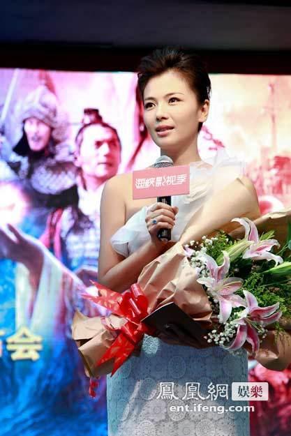 刘涛/6月15日,著名演员刘涛亮相第四届海峡论坛海峡影视季。