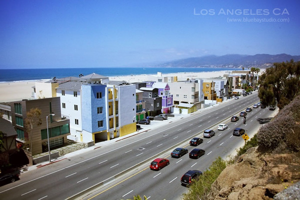 是洛杉矶西边的海边小镇.