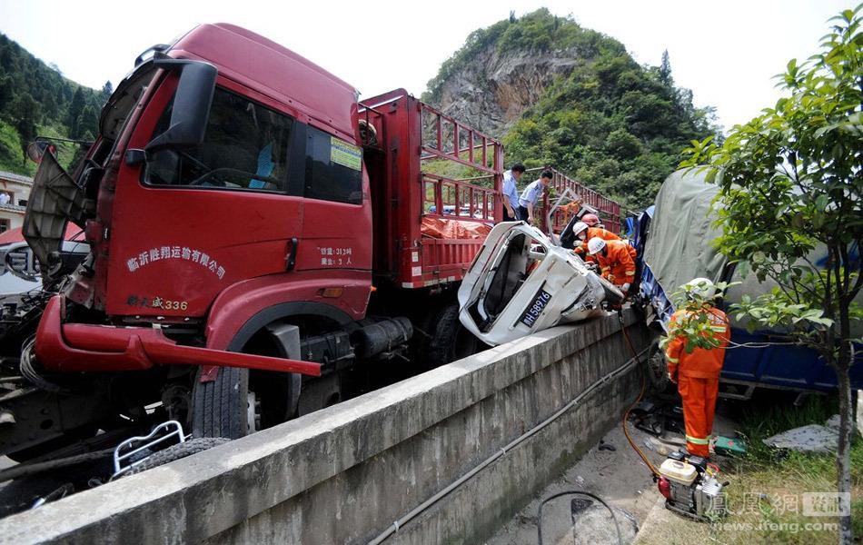贵州凯里发生重大交通事故