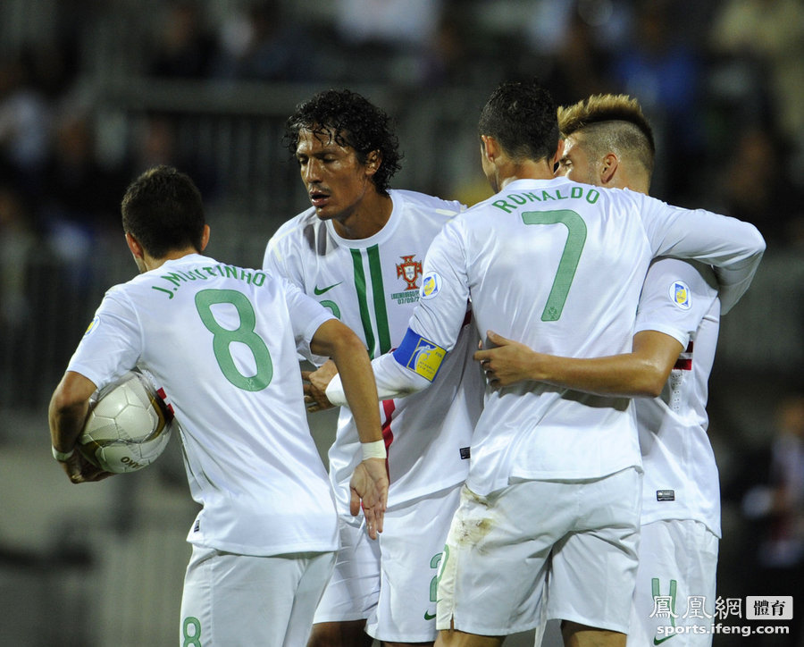 5,2014年世界杯预选赛欧洲区F组首轮,葡萄牙客场2-1逆转卢森堡,