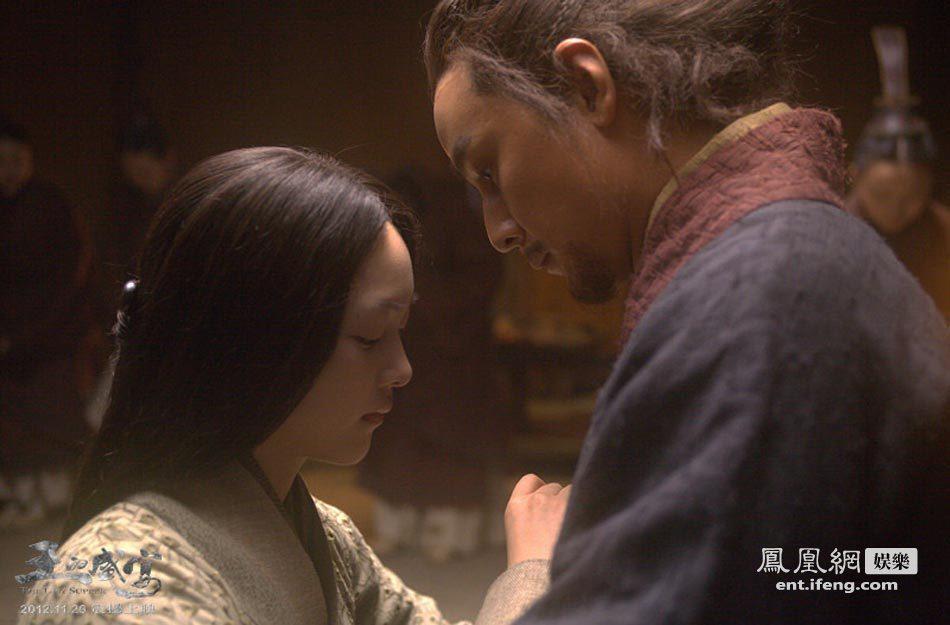 王的盛宴 何杜娟为吴彦祖深情宽衣 演绎霸王别姬