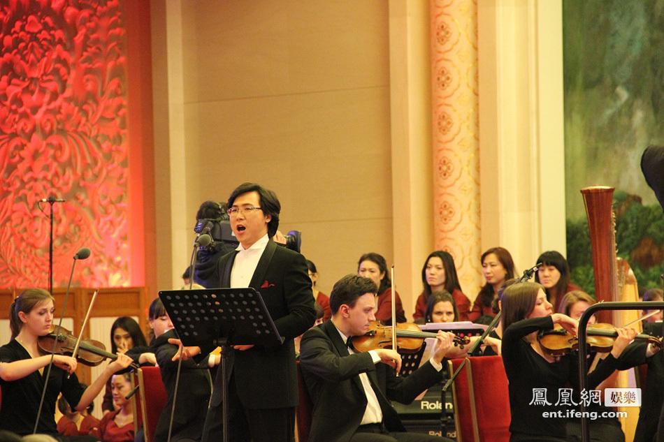 歌唱家廖昌永新年完美献唱 中国声音