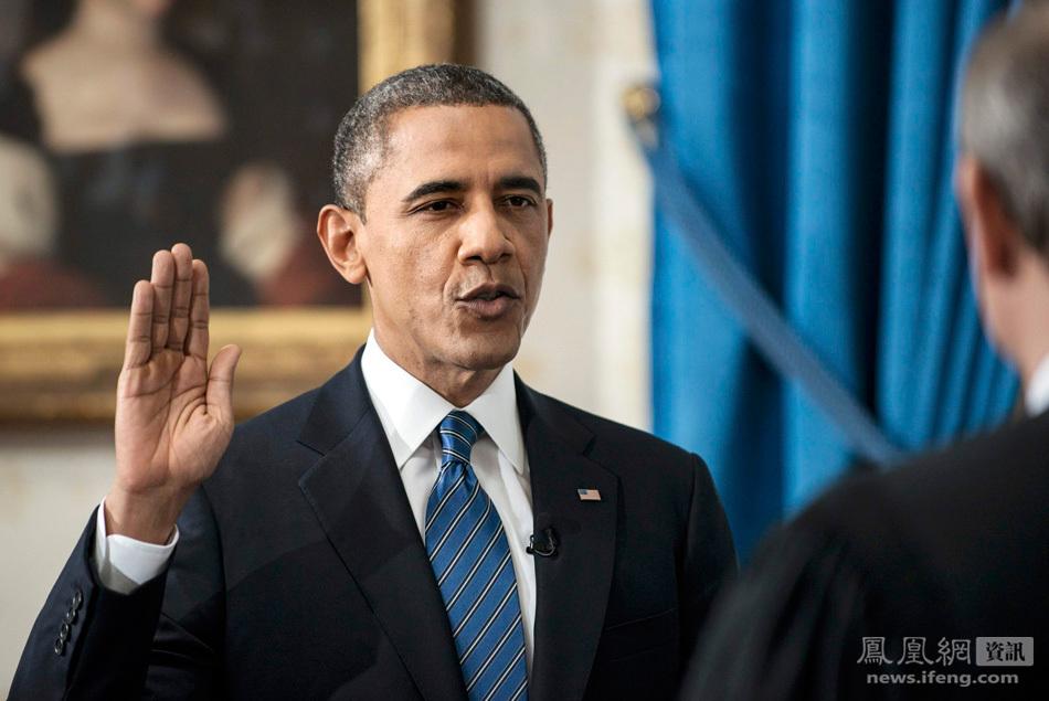 奥巴马在白宫宣誓就职(1/6) -  东方.旭 - 东方.旭的博客