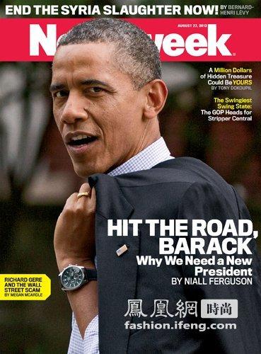 曾经就层因为奥巴马而火过jorge gray jg6500腕表,则会因为奥巴马的