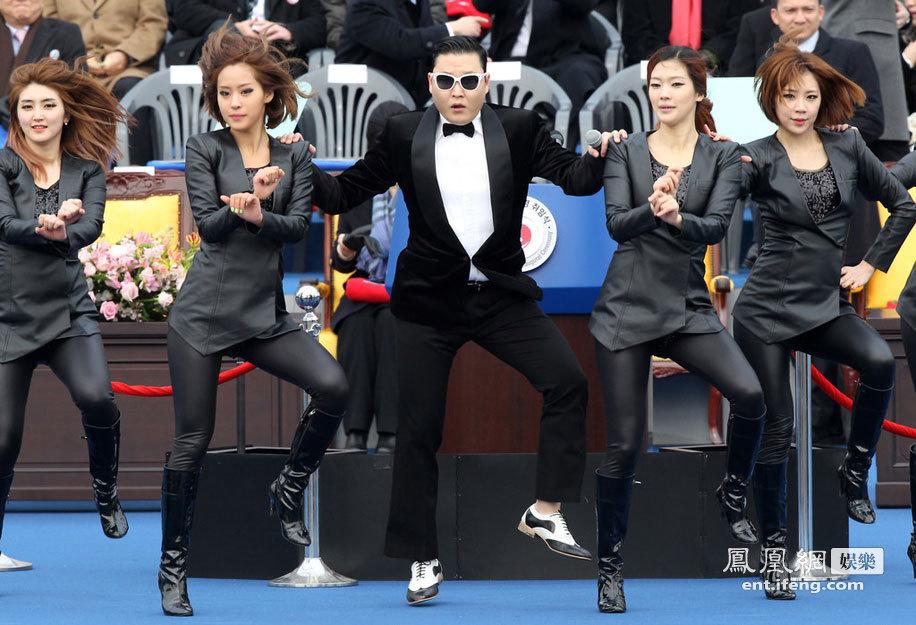鸟叔PSY获邀韩国总统就职典礼表演骑马舞高