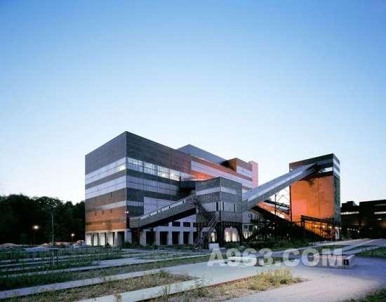 建筑设计:从旧工厂到埃森博物馆