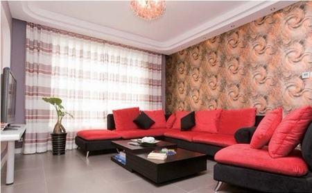 婚房客厅装修效果图大全2012图片