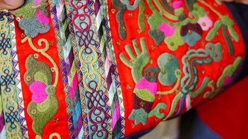 苗族刺绣 季刀寨里复活的民族手工艺图片