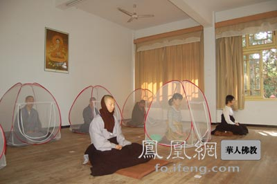 """江西省宝峰禅寺""""2011年内观禅修营""""活动圆满结束"""