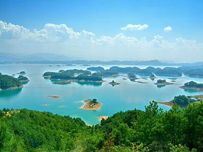 千岛湖 世界上岛屿最多的湖泊_旅游频道_凤凰网