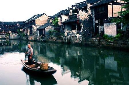 汽车到西塘,半小时左右可抵达.也有不少的游客游览过周庄,然高清图片