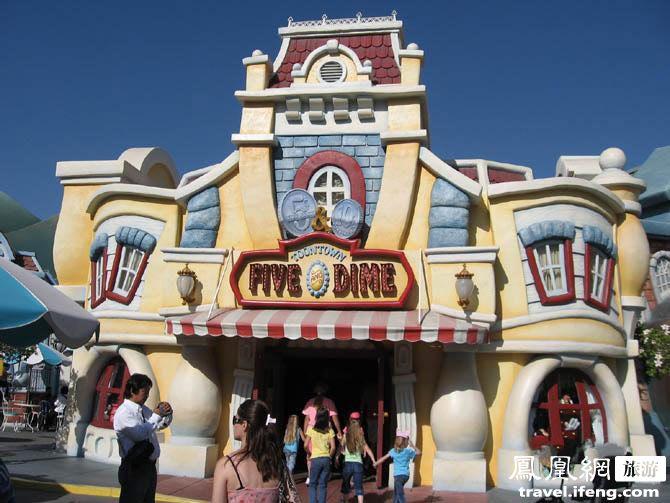 美国洛杉矶迪士尼乐园漫游记
